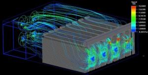 8模组挖矿机散热图