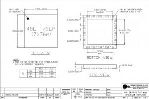 阿瓦隆芯片外观设计尺寸文件