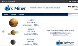 KncMiner推出三款基于28nm芯片的挖矿机:水星、土星、木星