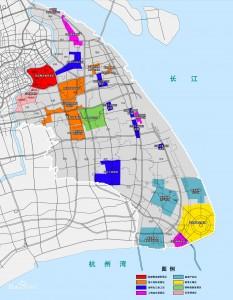 上海自贸区地图