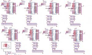 gridchip8芯片电路原理图,想开发莱特币挖矿机的不要错过